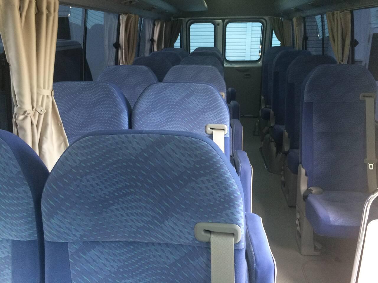 Microbus inside